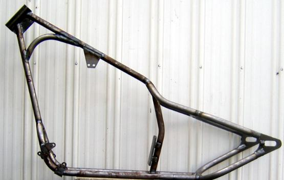 Rigid Chopper/Bobber Custom Motorcycle Frames for Buell/Sportster ...