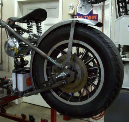 Weld-On Bolt-On 1952 to 2003 Sportster & Big Twin Hardtails Struts
