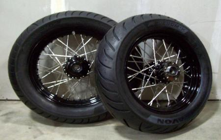 chopper bobber mini brake drum brake wheels spool hub. Black Bedroom Furniture Sets. Home Design Ideas