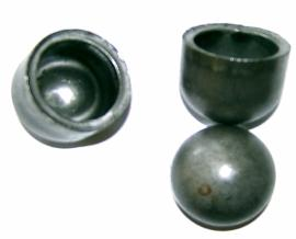 Parts for Frame Builders: Steel Butt Weld End Caps for Tubing
