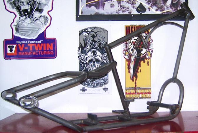 Click here to go directly to sportster chopper frames
