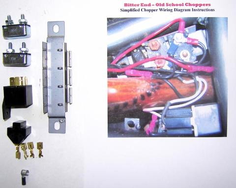 Custom Motorcycle Wiring Diagram | Wiring Diagram on 4 post solenoid diagram, 4 wheeler wiring diagram, 4 post relay diagram,