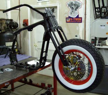 DNA Specialties Springer Front End, Rockers, Front Brake, Motorcycle