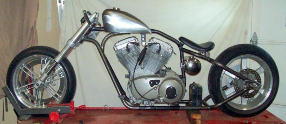 Rigid Chopper/Bobber Custom Motorcycle Frames for Buell