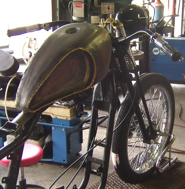 Old School V Twin Mfg Big Sportster Custom Motorcycle Bobber Complete Bike Kits Panhead Knucklehead Conversion